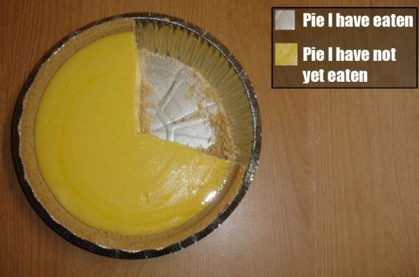 圓形圖(pie chart)的使用